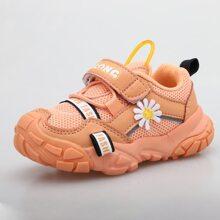 Kleinkind Maedchen Sneakers mit Gaensebluemchen Dekor