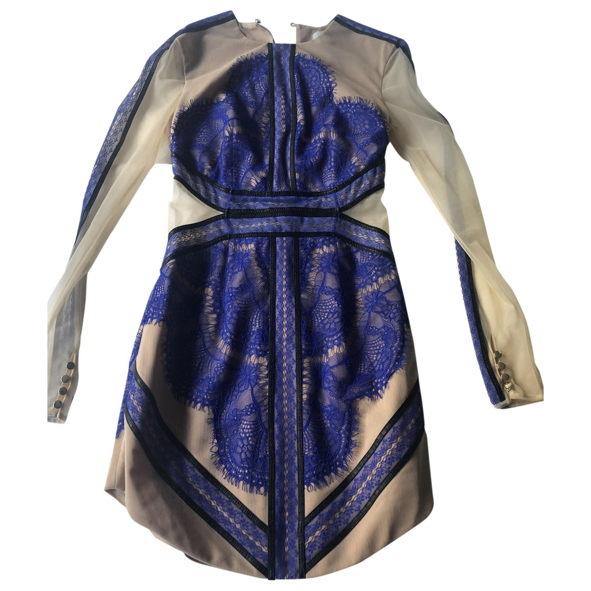 Three Floor Fashion \N Blue Lace dress for Women S International