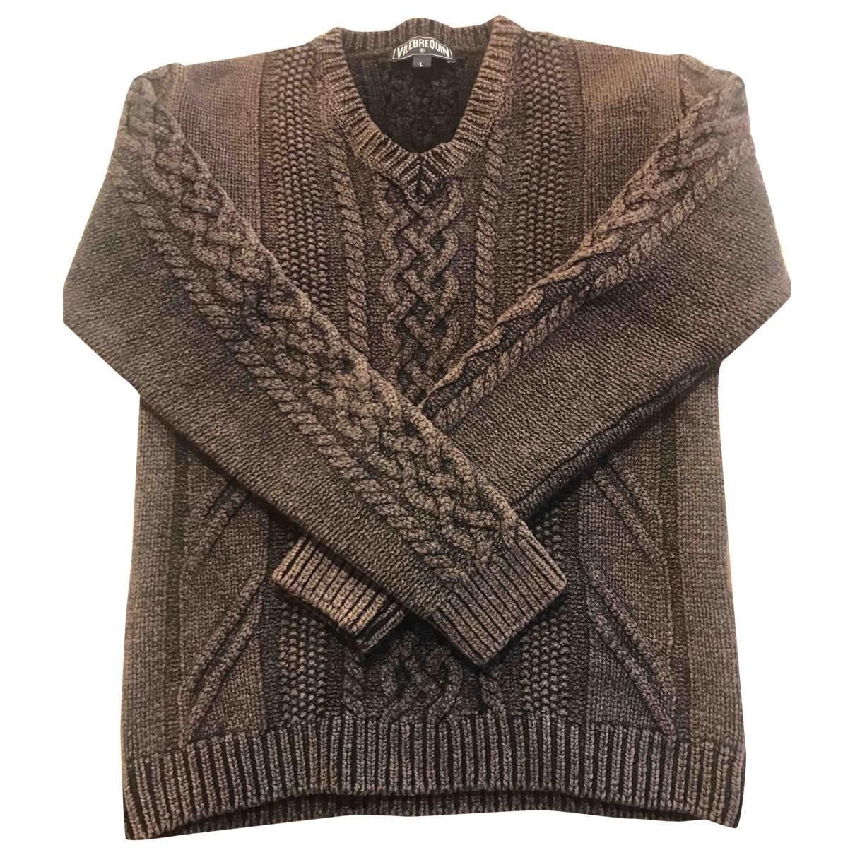 Vilebrequin - Pulls.Gilets.Sweats   pour homme en laine - gris
