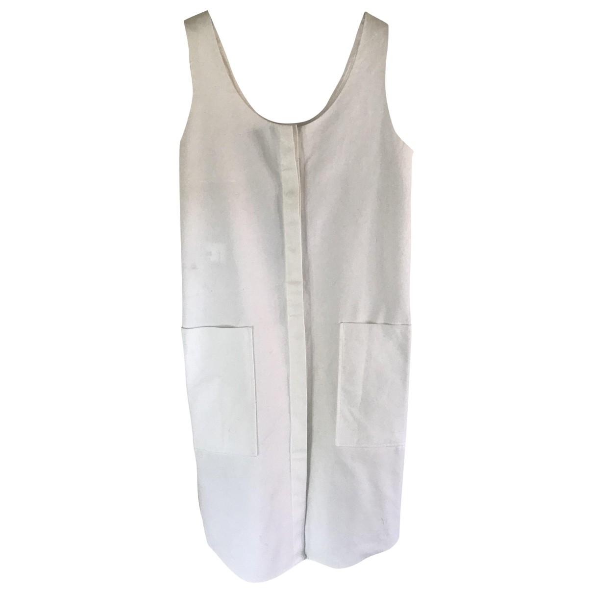Jil Sander \N Kleid in  Ecru Baumwolle
