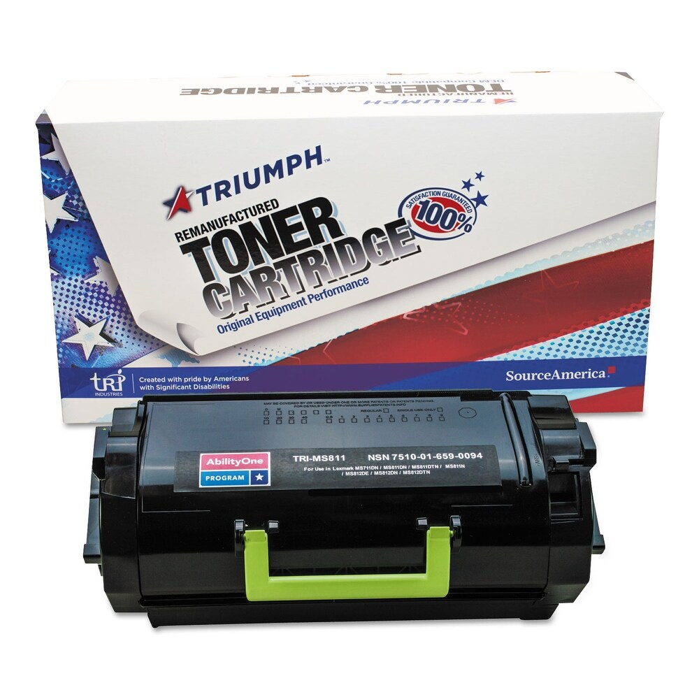 Compatible Lexmark 52D0XA0/52D1X00 Toner Cartridge (Black)