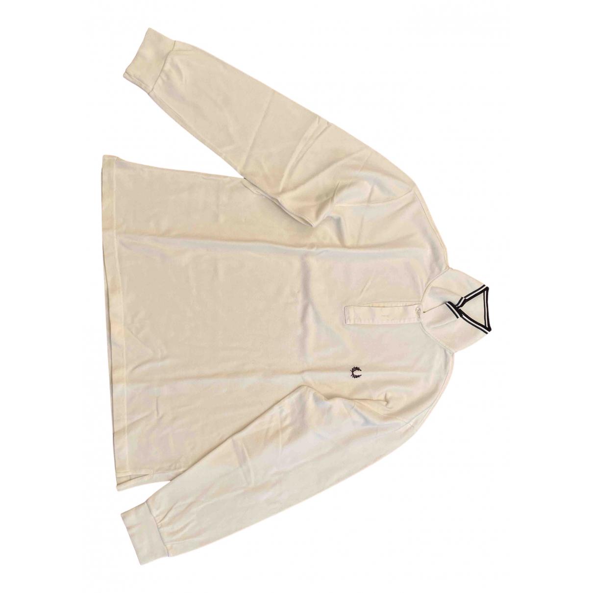 Fred Perry - Polos   pour homme en coton - blanc