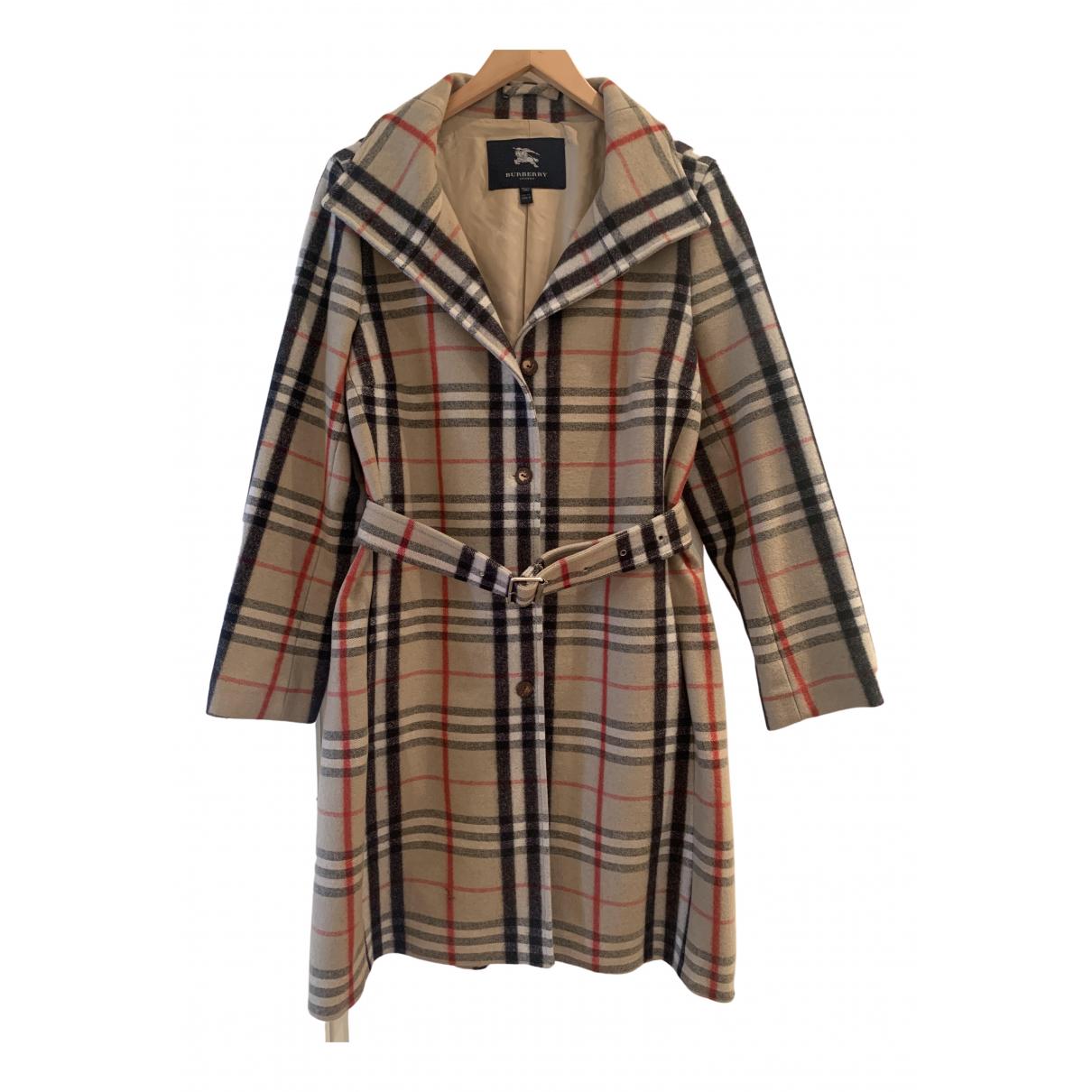 Burberry \N Maentel in Wolle