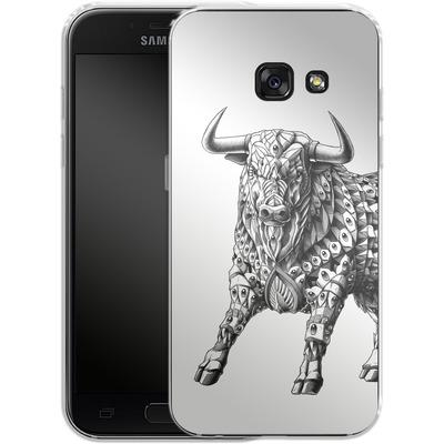 Samsung Galaxy A3 (2017) Silikon Handyhuelle - Raging Bull von BIOWORKZ
