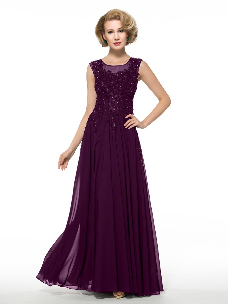 Ericdress Appliques Beading Mother of the Bride Dress