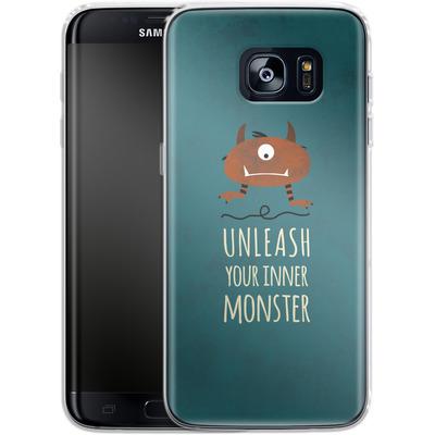 Samsung Galaxy S7 Edge Silikon Handyhuelle - Unleash Your Inner Monster von Statements