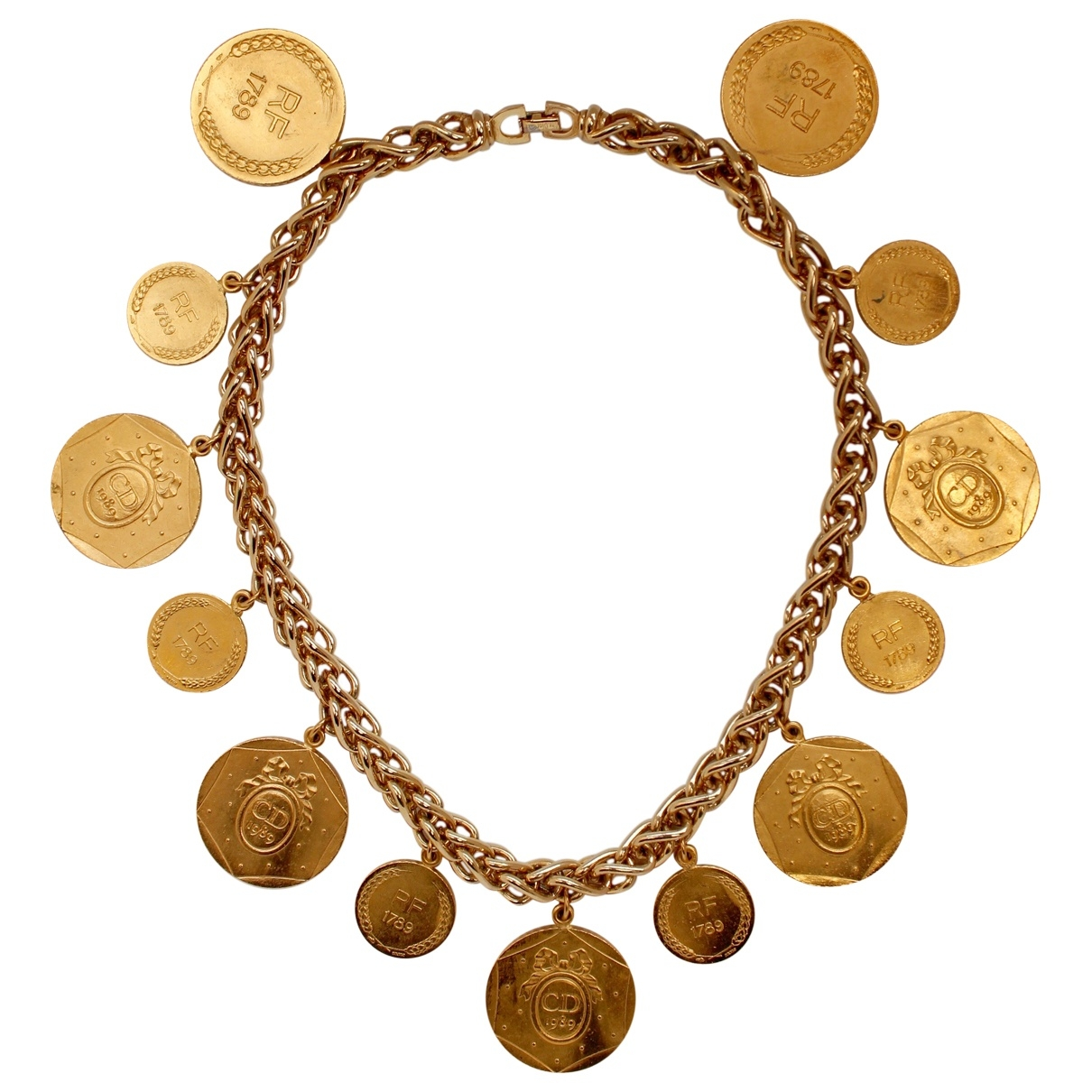 Dior \N Kette in  Gold Metall