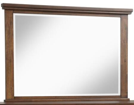 Robert Collection RB400-M Mirror with Epa Certified and Rectangle Shape in Cherry