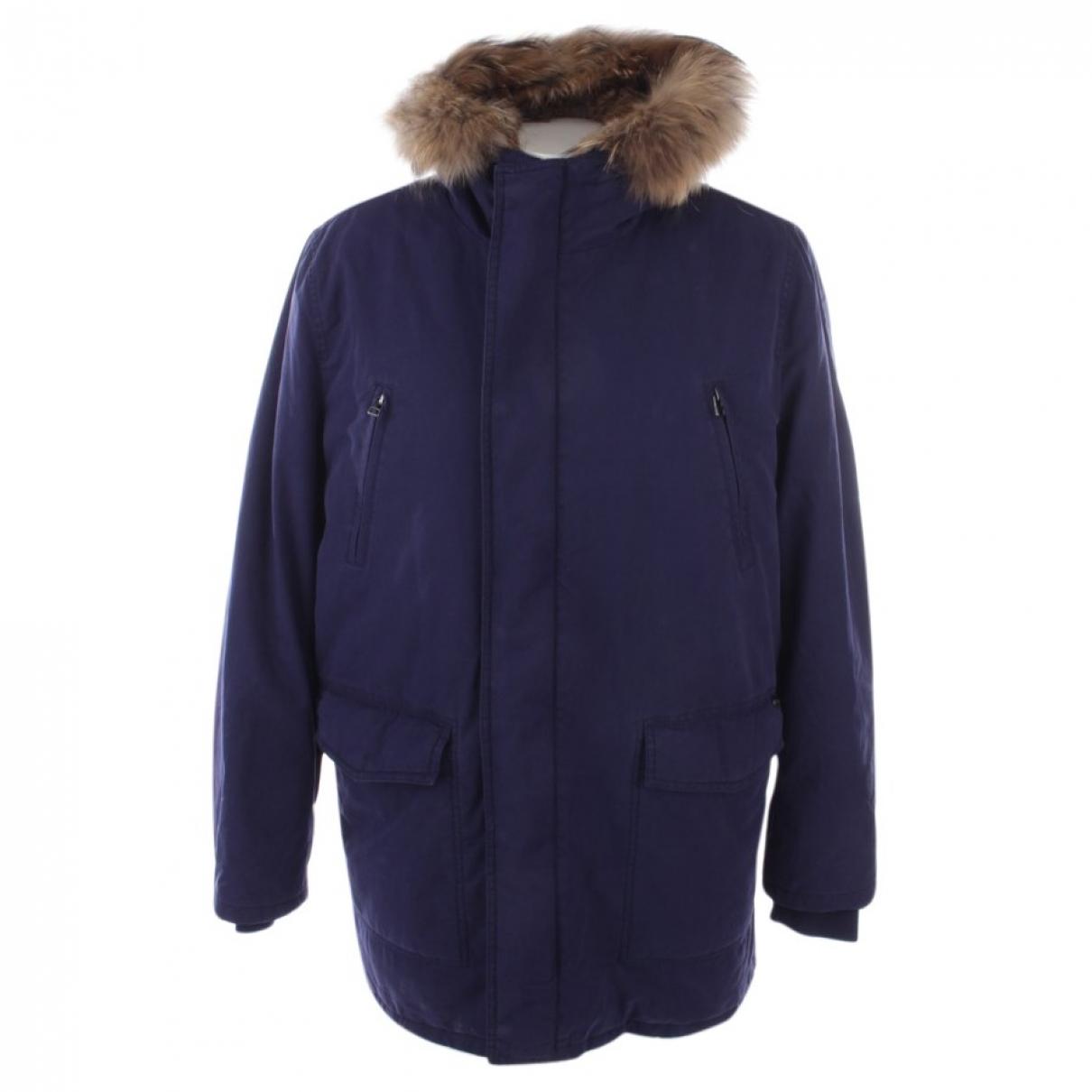 Iq+ Berlin - Manteau   pour femme en coton - bleu