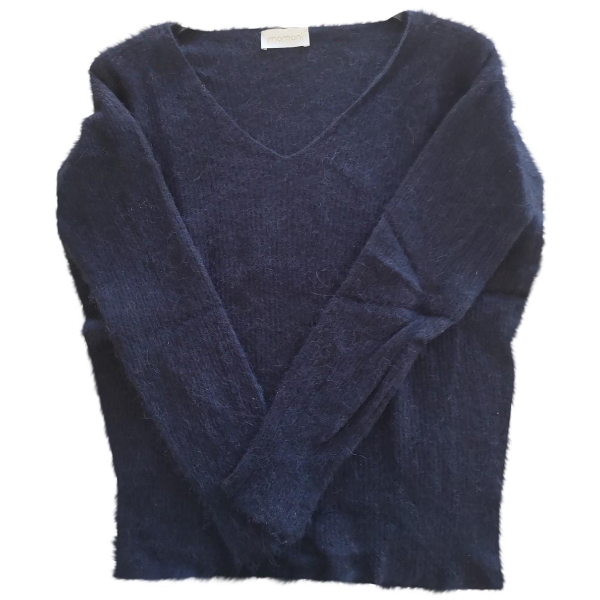Momoni \N Navy Wool Knitwear for Women L International