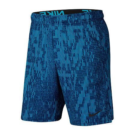 Nike Mens Moisture Wicking Pull-On Short, Xx-large , Blue