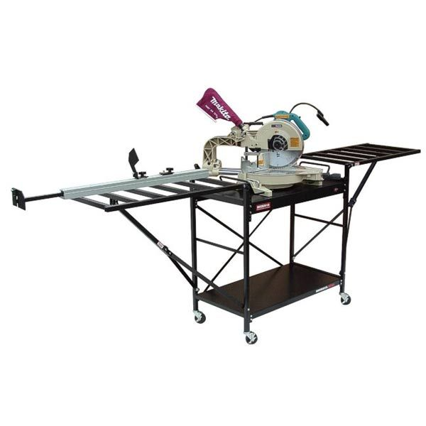 Large Shop Style Miter Saw Stand, Model 2875XL