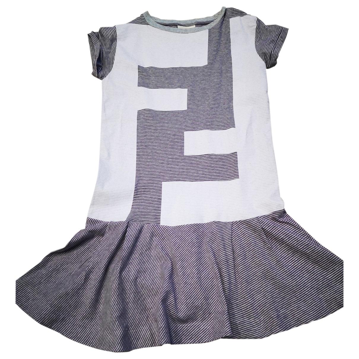Fendi - Robe    pour enfant en coton - elasthane - multicolore