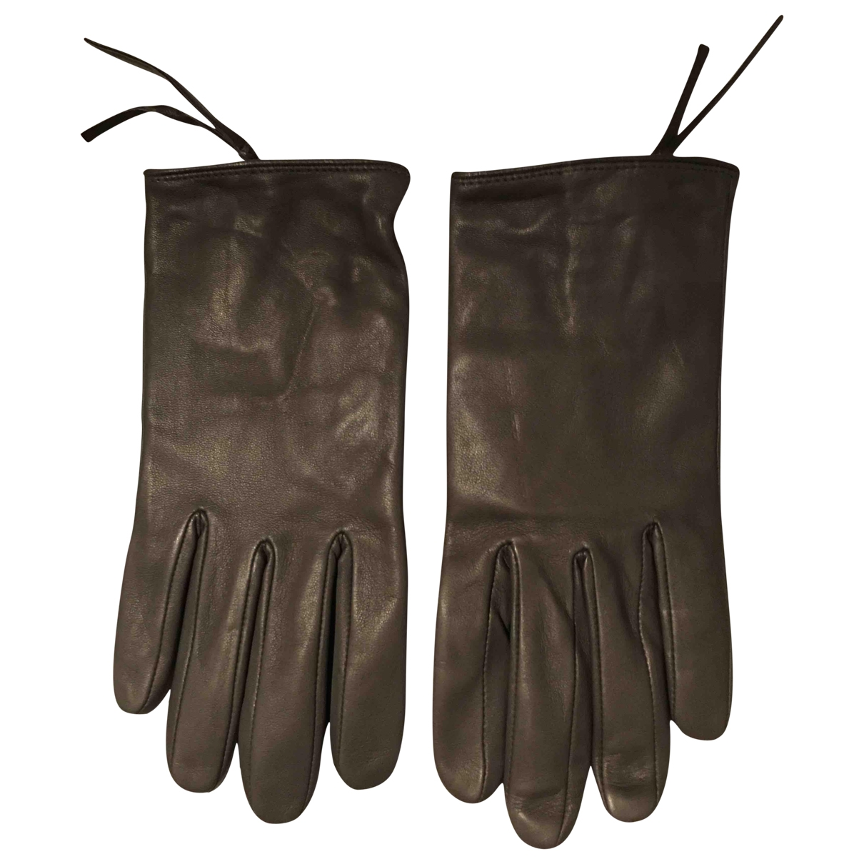 Gerard Darel \N Handschuhe in  Beige Leder