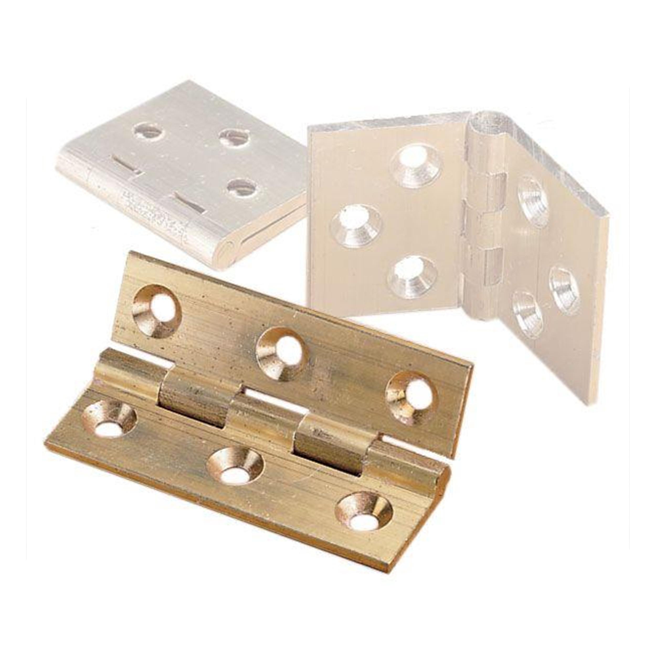 Cabinet Hinge, Polished Brass 2
