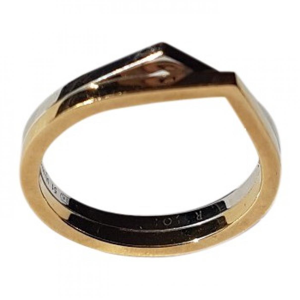 Repossi Antifer Ring in  Silber Gelbgold