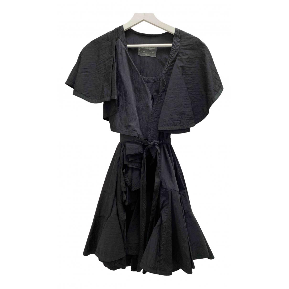 All Saints \N Kleid in  Schwarz Polyester