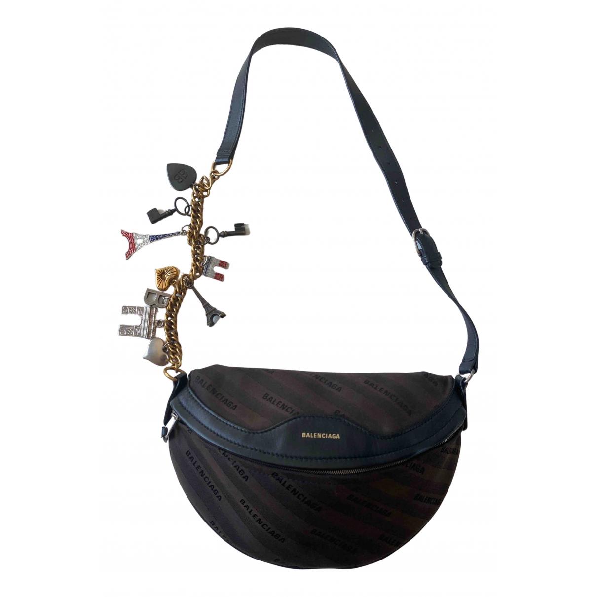 Balenciaga Souvenir XS Brown Cloth handbag for Women \N