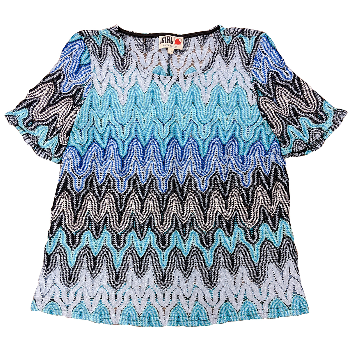 River Island N Multicolour  top for Women 12 UK
