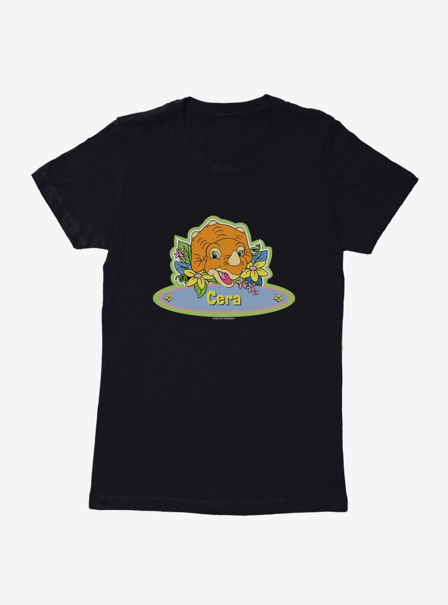 The Land Before Time Cera Name Sign Womens T-Shirt
