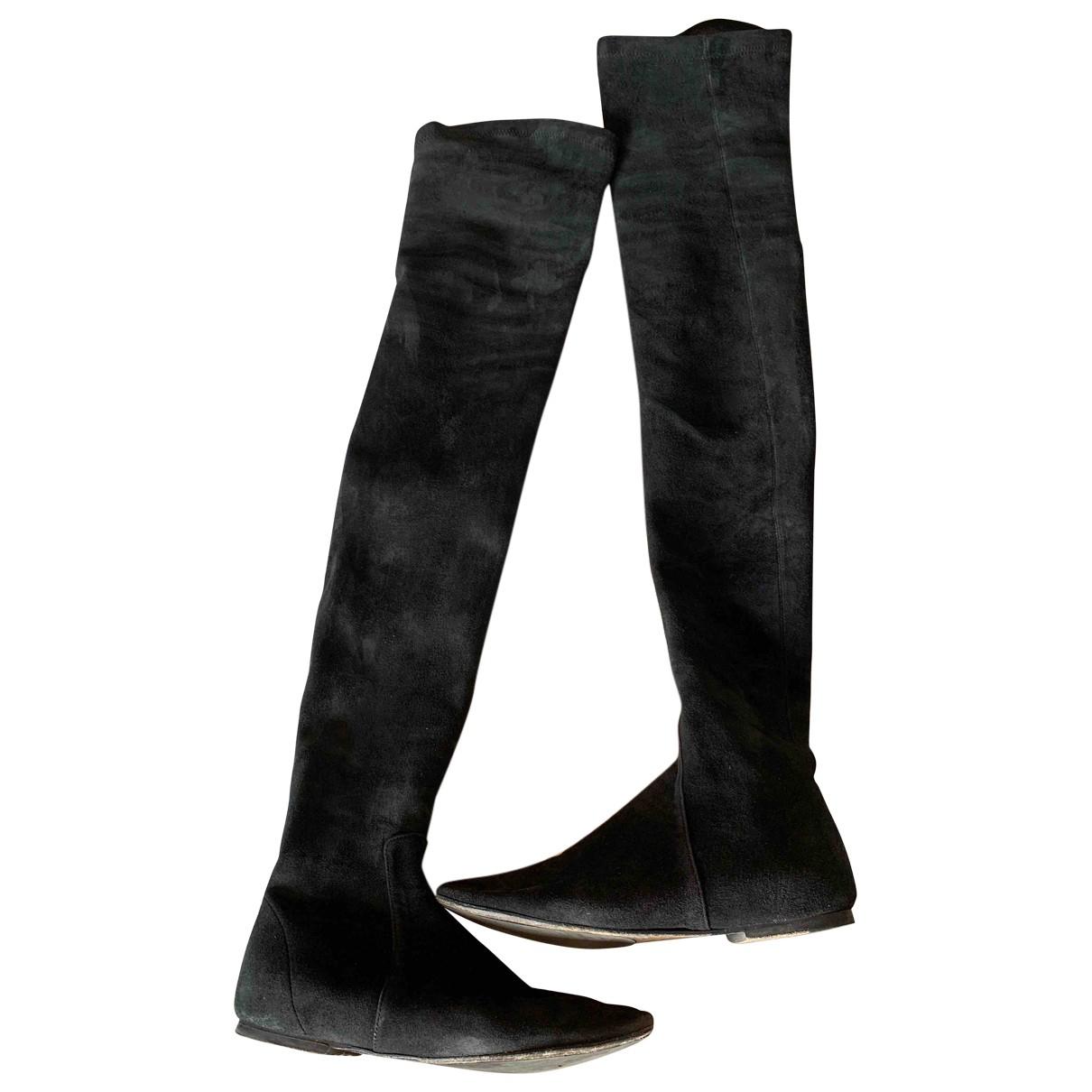 Isabel Marant N Black Suede Boots for Women 37 EU