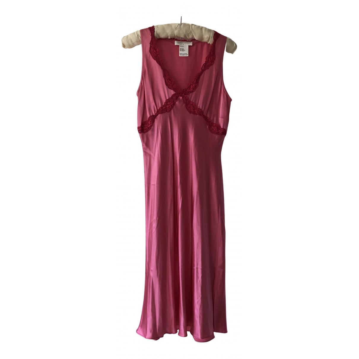 Collette Dinnigan - Robe   pour femme en soie - rose