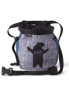 Graphic Chalk Bag with Belt