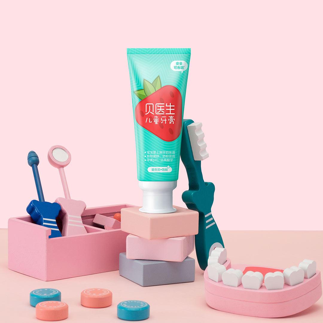 XIAOMI Dr.Bei 0+ Probiotics Anti-mite Children's Toothpaste
