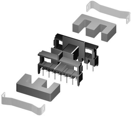 EPCOS B66232B1114T001 Horizontal Coil Former, 14 Pins (10)