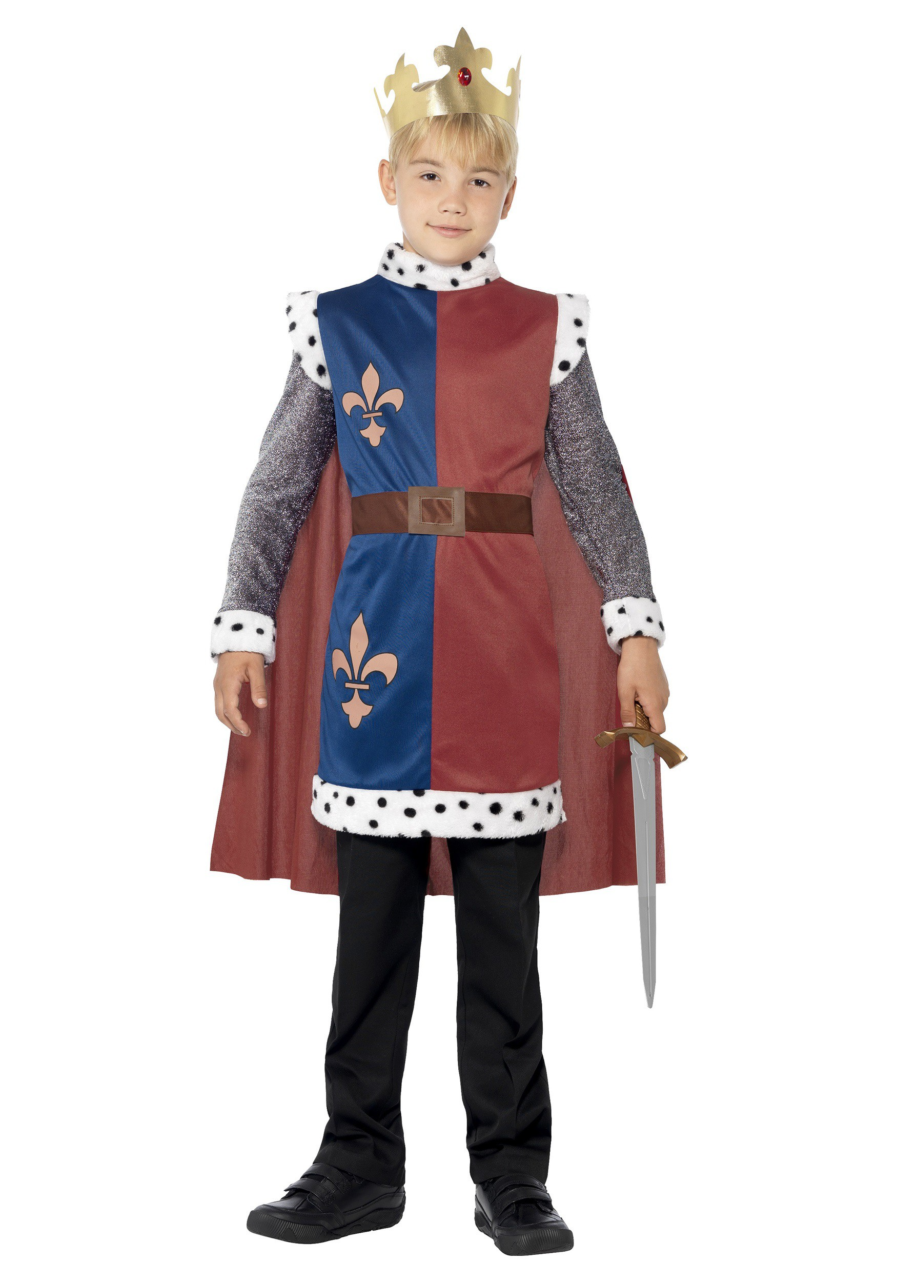 Boys Medieval King Arthur Tunic