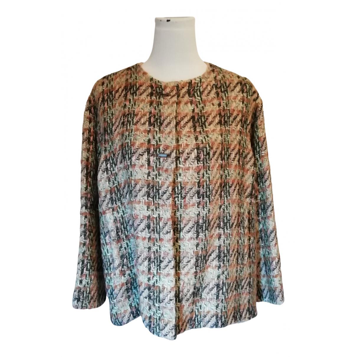 Chloe - Veste   pour femme en laine - multicolore