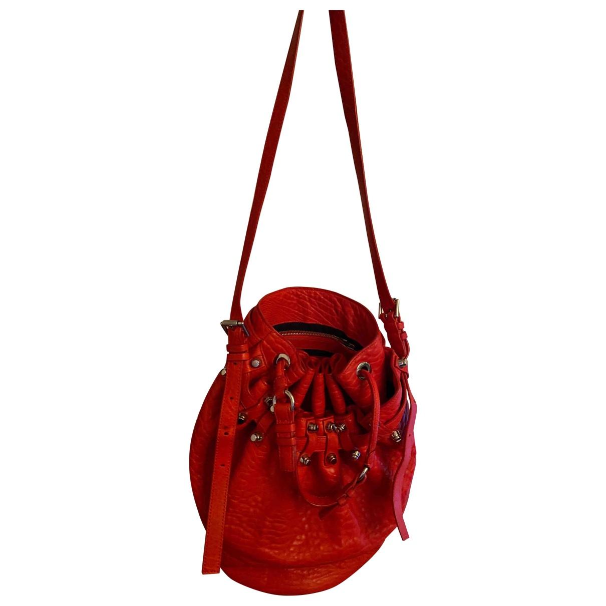 Alexander Wang Diego Red Leather handbag for Women \N