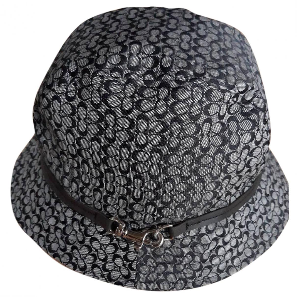 Coach - Chapeau   pour femme - gris