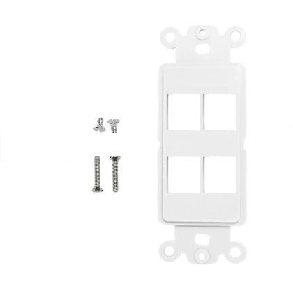Courroie Decora blanc - PrimeCables® - 4 Port
