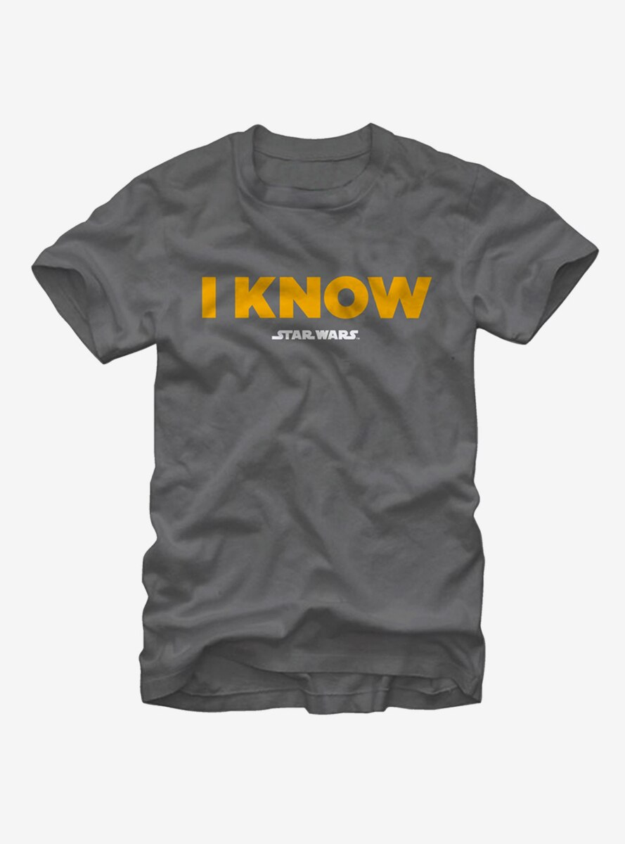 Star Wars Han Solo I Know T-Shirt