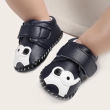Zapatillas con patron de elefante de bebe niño