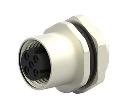 TE Connectivity Circular Connector, 4 contacts Panel Mount Plug, Solder IP67