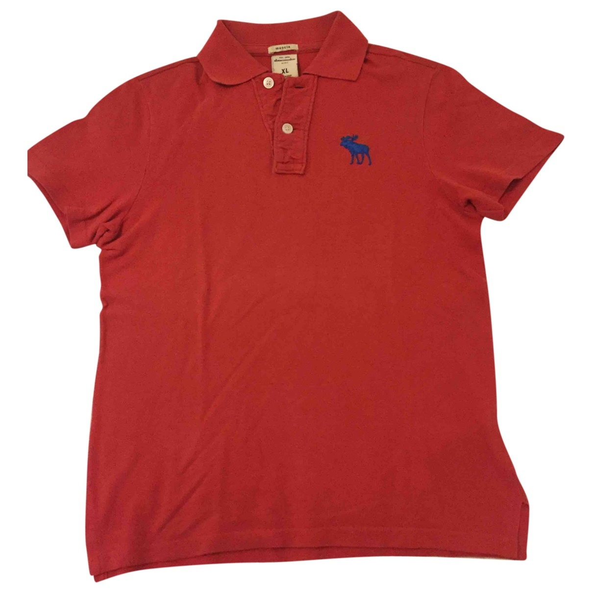 Abercrombie & Fitch \N Red Cotton  top for Kids 12 years - XS UK