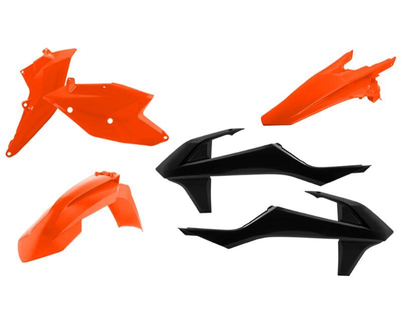 Acerbis 2634065569 Plastic Kit Orange/Black KTM EXCF350 17 - 18