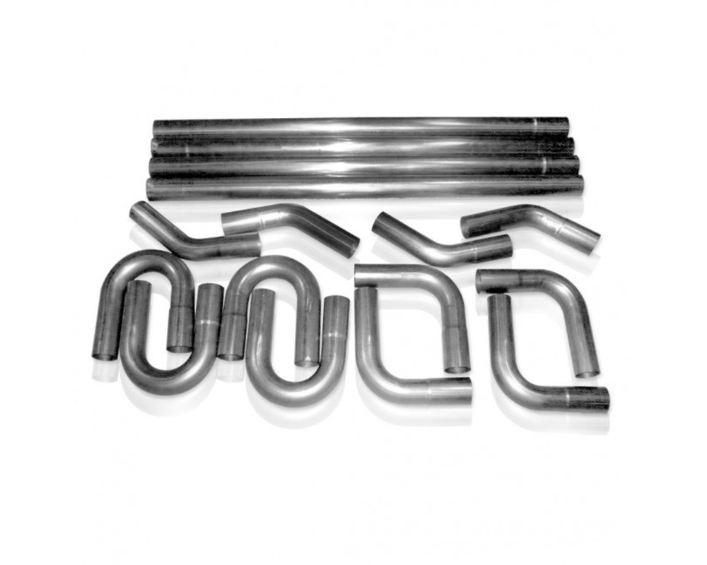 Stainless Works RB3.5X 3 1/2in Rod Builder Exhaust (Slip Fit Kit)