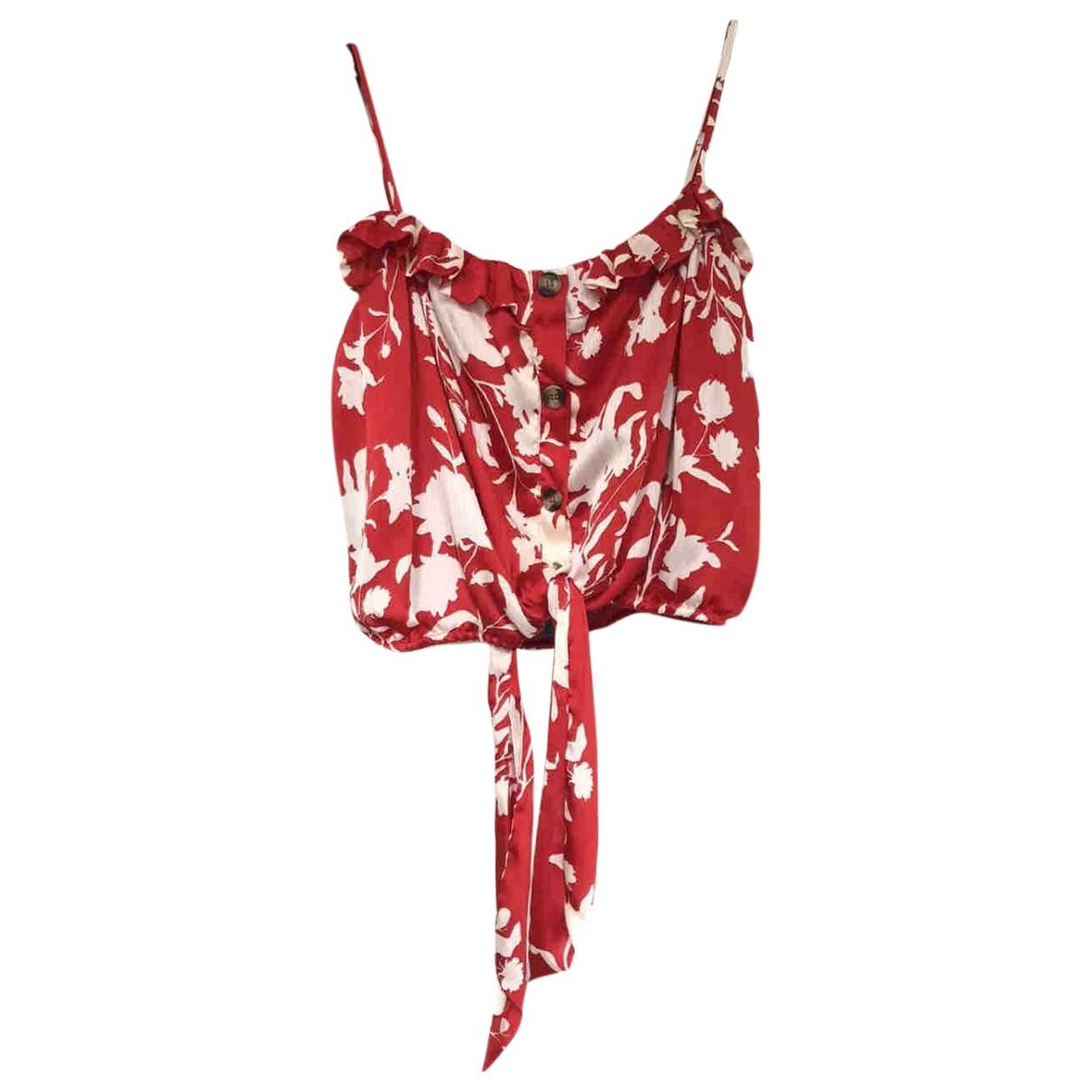 Johanna Ortiz X H&m - Top   pour femme - rouge