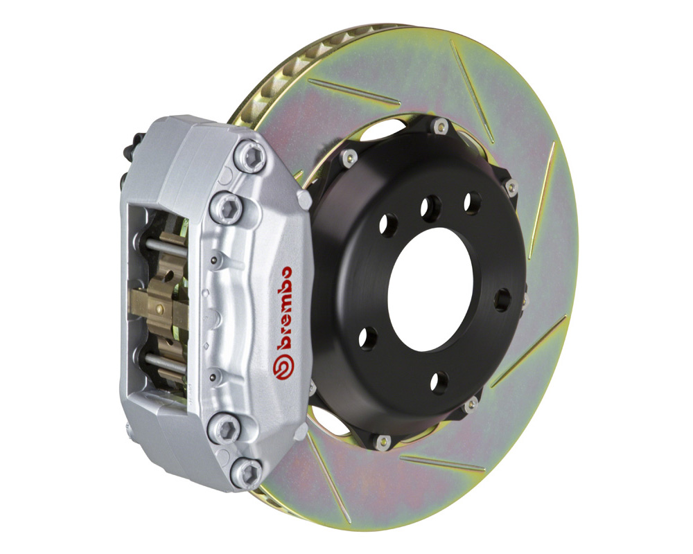 Brembo GT 328x28 2-Piece 4 Piston Silver Slotted Front Big Brake Kit