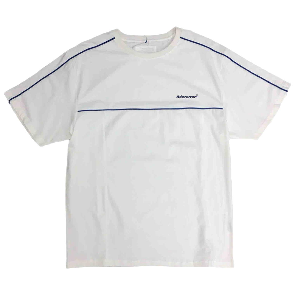 Ader Error \N White Cotton T-shirts for Men M International
