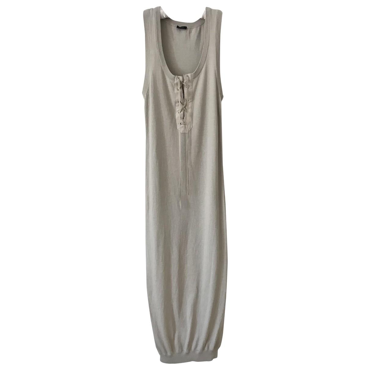 Joseph \N Beige Cotton dress for Women S International