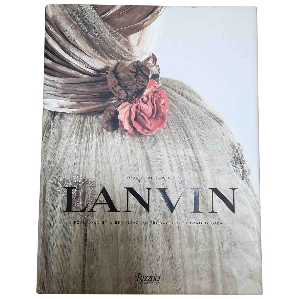 Lanvin \N Mode in  Bunt Holz