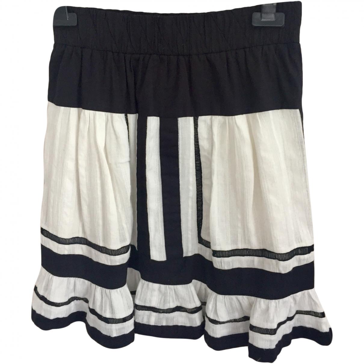 Isabel Marant Etoile \N White Cotton skirt for Women 36 FR