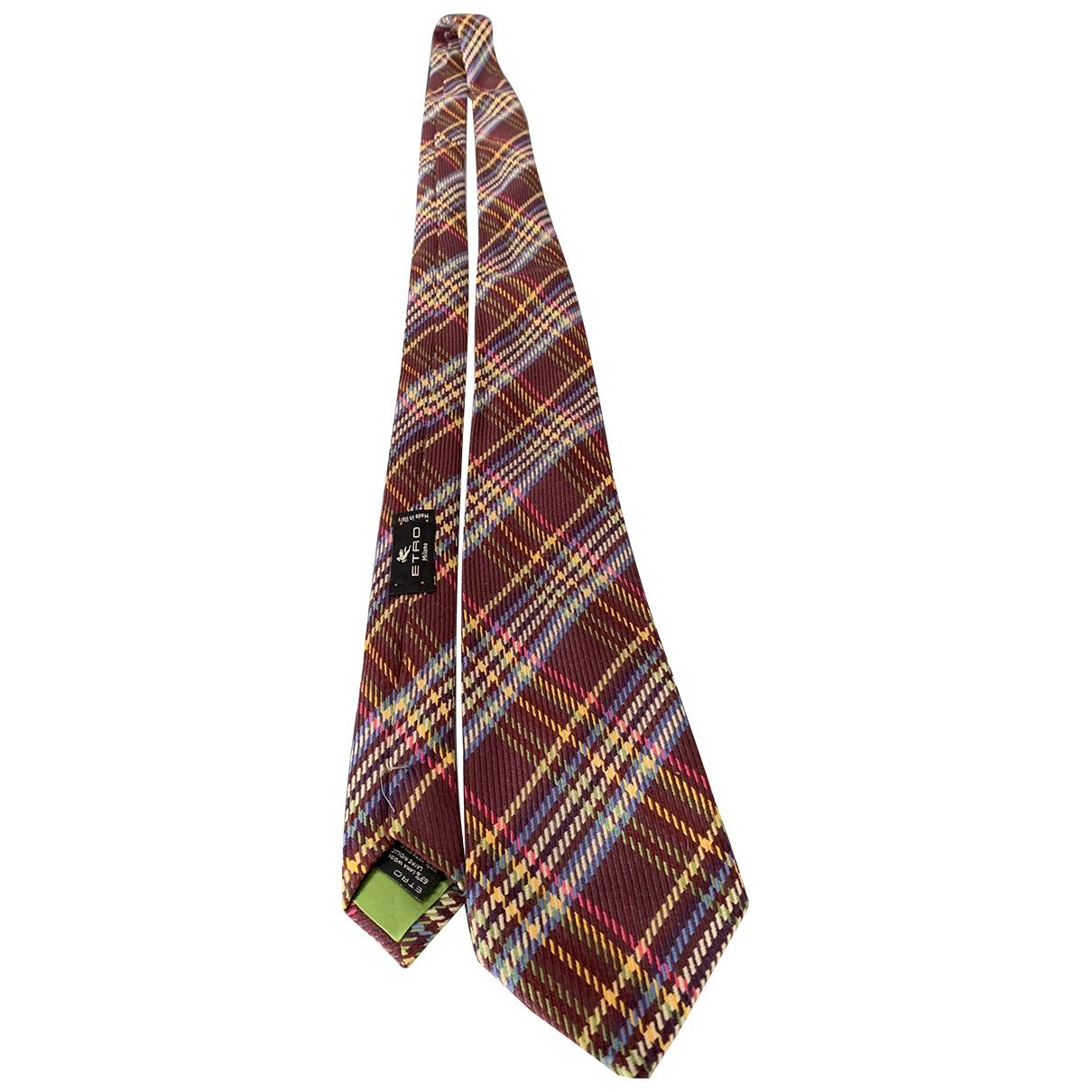 Etro \N Krawatten in Wolle