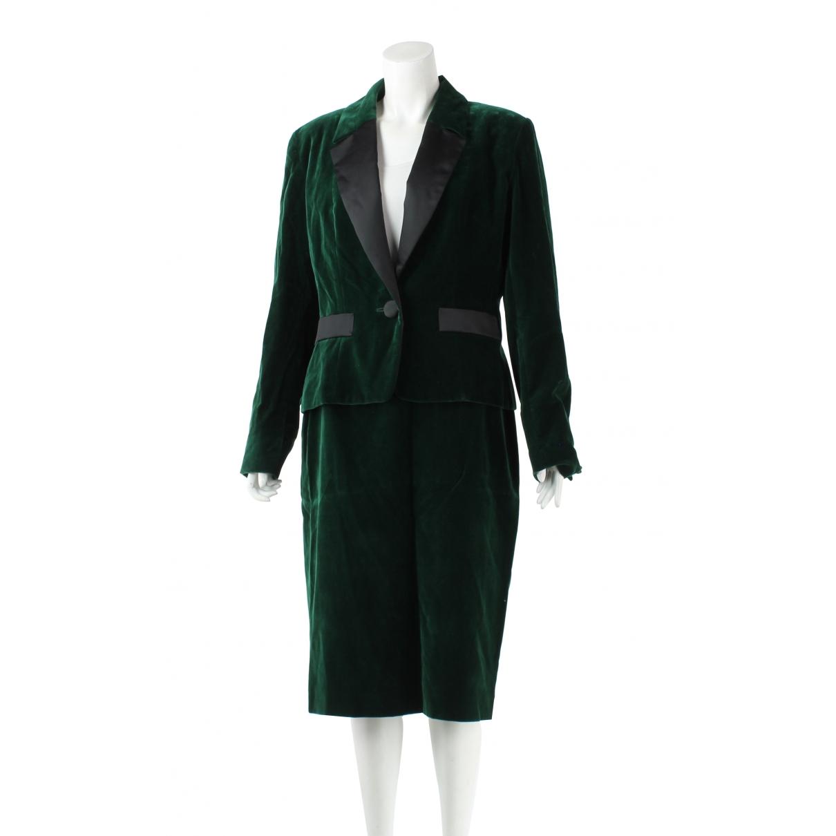 Autre Marque - Jupe   pour femme en coton - vert