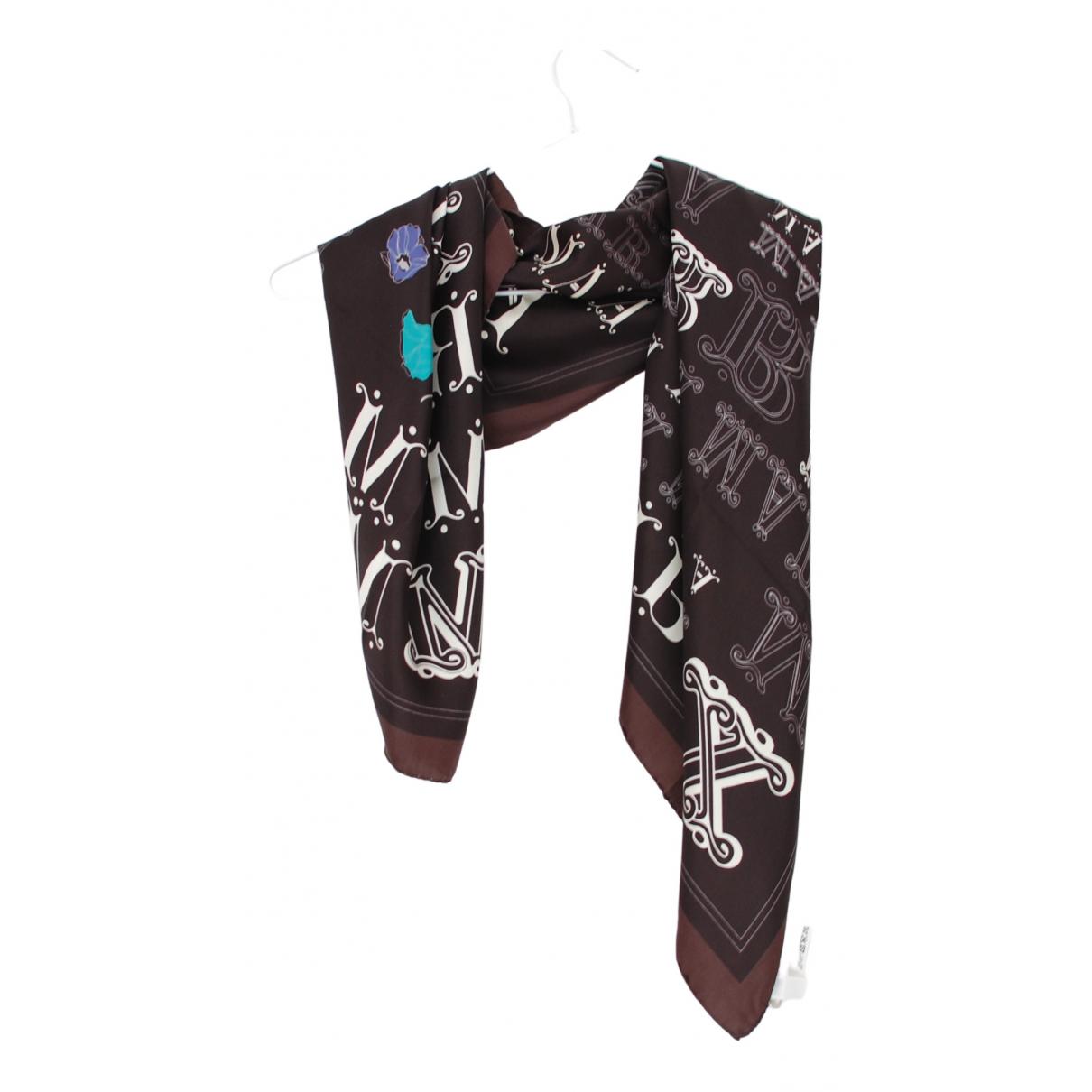 Max Mara N Black Silk scarf for Women N