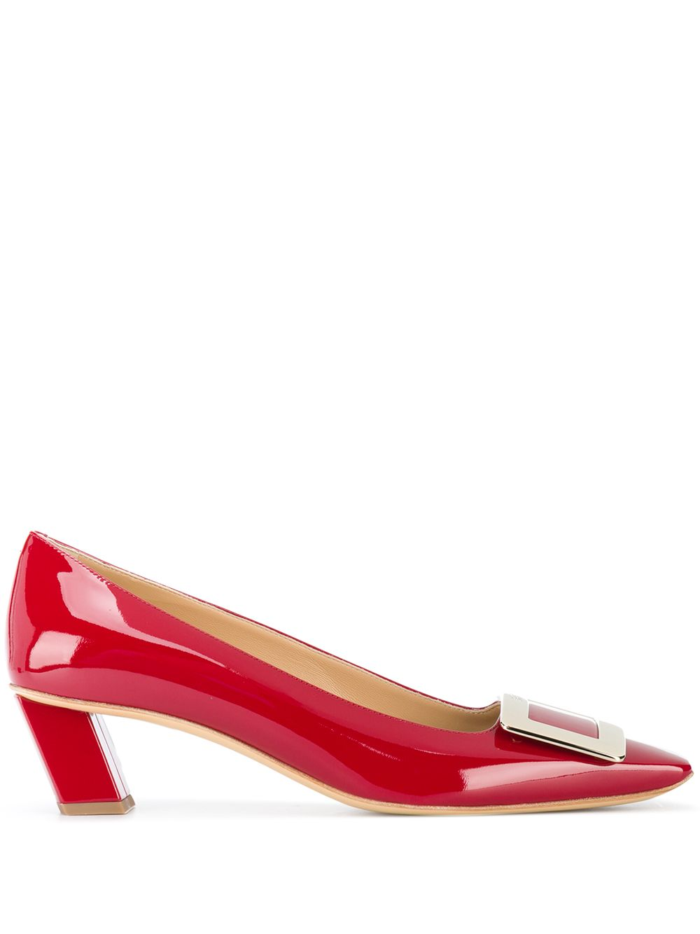 Belle Vivier Patent Leather Pumps